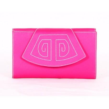 Wallet purse lady lapel pink bullfighting