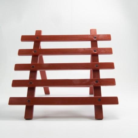 Barrera  de madera plegable en Miniatura