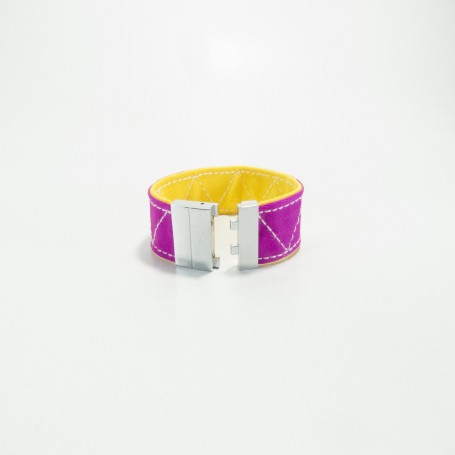 Bullfighting capote zic-zac bracelet