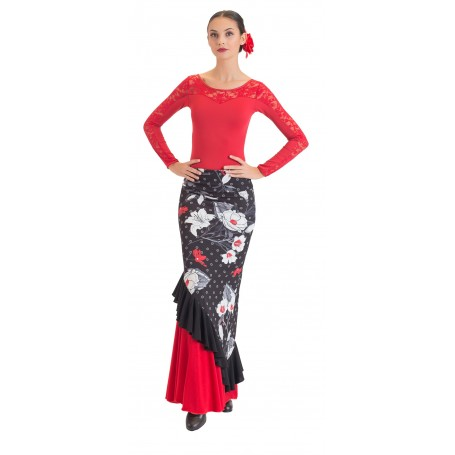 Falda, cuerpo o conjunto de flamenco adultos Córdoba
