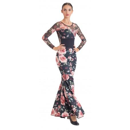 Falda, cuerpo o conjunto de flamenco adulto Olvera