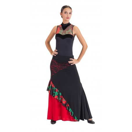 Pampaneira adult flamenco skirt, body or ensemble