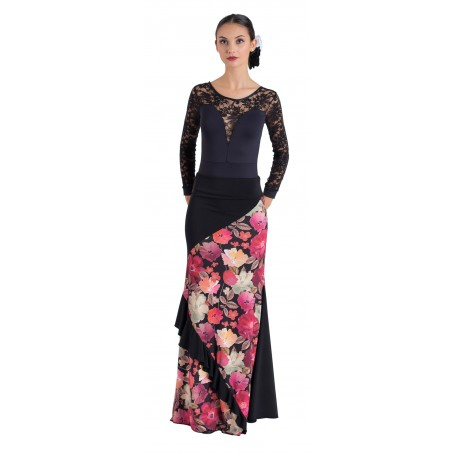 Falda, cuerpo o conjunto de flamenco adulto Sanlúcar
