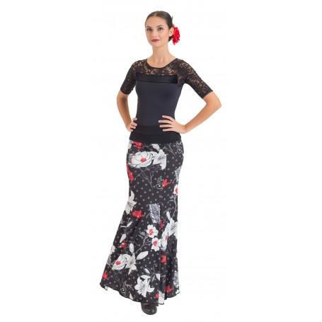 Falda, cuerpo o conjunto de flamenco adulto Zuheros