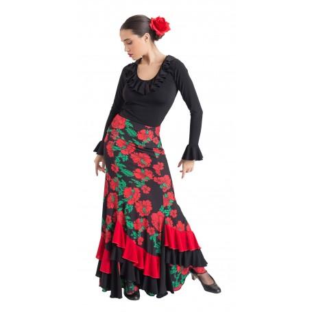 Falda, cuerpo o conjunto de flamenco adulto Martos