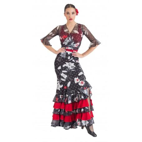 Manuela adult flamenco skirt, body or ensemble