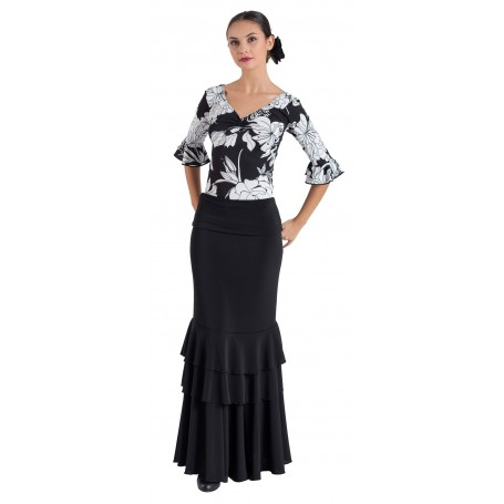 Leila adult flamenco skirt, body or ensemble