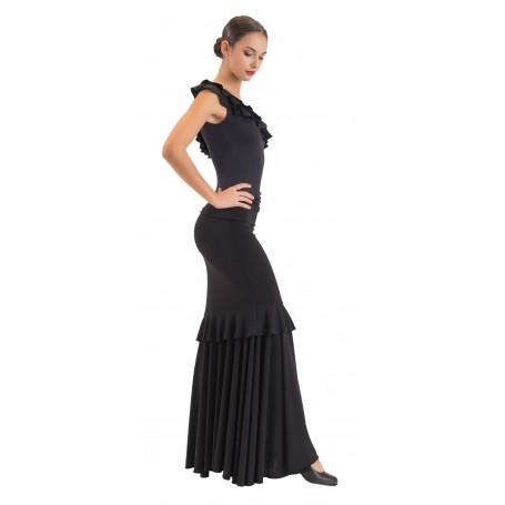 Falda, cuerpo o conjunto de flamenco adulto Azahara