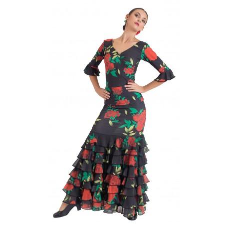 Amber adult flamenco skirt, body or ensemble