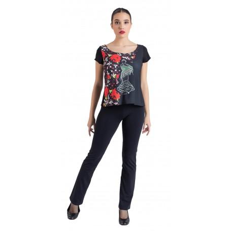 Camiseta flamenca Chiclana de  Segura 2462SU FL23