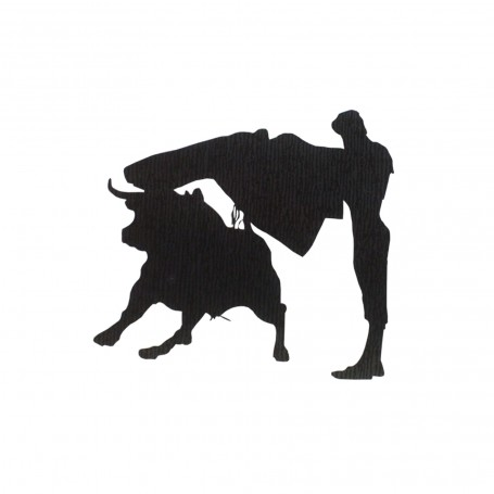 Bullfighting sticker Statuary