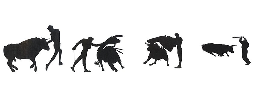 - Bullfighting stickers
